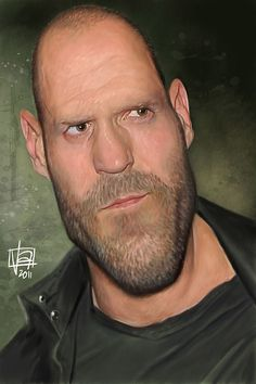 Caricatura de Jason Statham.