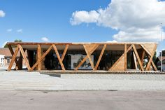 Completed in 0 in Rebild, Denmark. Images by Mikkel Frost. RebildPorten is a new visitor's centre and exhibition space for one of the most beautiful and popular tourist destinations in northern Denmark:...