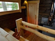 Sauna House, Outdoor Sauna, Sauna Design, Finnish Sauna, Best Cleaning Products, Spa Rooms, Small Buildings, Massage Room, Laundry In Bathroom