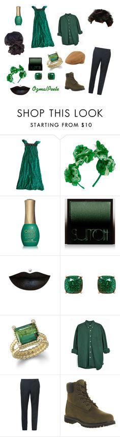 """""""Dorothy Must die: Ozma and Peat"""" by sweetumkitty on Polyvore featuring Catherine Malandrino, ORLY, Surratt, Humble Chic, Burberry, Timberland and Neiman Marcus"""