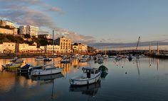 Torquay Harbour, Devon, England.