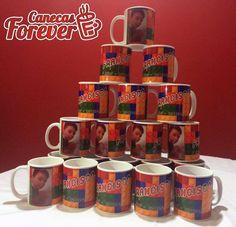 Canecas personalizadas para aniversários nós fazemos também em todos os temas. Preços especiais para festas!^^ www.facebook.com/CanecasForever