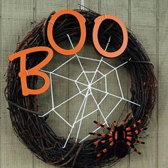12 Hauntingly Creative DIY Halloween Wreaths   Not too soon to start making ahead for the holidays!