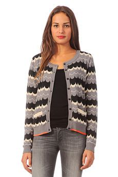 Cardigan - 7713246 carmen - Blue / Navy