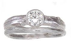 love unique wedding rings