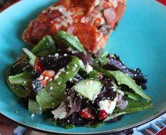 Photo by Boomette Albanian Cuisine, Albanian Recipes, Albanian Food, Spagetti Salad Recipes, Spaghetti Salad, Vegtable Salad, Congealed Salad, Vegetarian Salad Recipes, Sliced Almonds