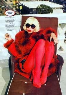 The Nicki Minaj Glamour Magazine October 2011 Editorial is Sizzling #jeremyscott #hotfashion