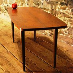 Danish Mid Century Modern Rosewood Coffee Table, Circa 1960's