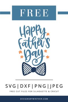Happy father's day svg file for your upcoming Father's day DIY project. Make some cute crafts with this father's day cut file. The files work on both silhouette and cricut cutting machines. How great would this look on a card? Happy Fathers Day Images, Fathers Day Quotes, Fathers Day Crafts, Diy Father's Day Gifts, Father's Day Diy, Diy Father's Day Cards, Dyi, Cricut Cards, Cute Crafts