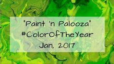 "This is my contribution to the CAC's January Virtual Art Crawl Event -- celebrating Colour Of The Year ""Greenery"". Virtual Art, Color Of The Year, Pantone Color, Painting, Painting Art, Paintings, Drawings"