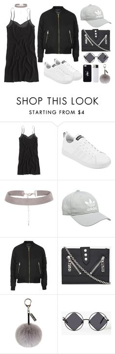 """""""DAILY FASHION"""" by mimiih ❤ liked on Polyvore featuring J.Crew, adidas, Topshop, Kenzo, Helen Moore, October's Very Own, women's clothing, women, female and woman"""