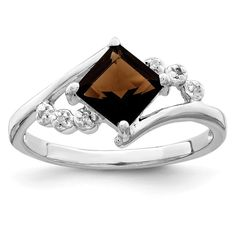 Pin it for later. Find out more chocolate diamond engagement rings. 925 Sterling Silver Princess Cut Smoky Quartz Diamond Band Ring Stone Gemstone Fine Jewelry For Women Gift Set Jewelry Gifts, Fine Jewelry, Women Jewelry, Gift Sets For Women, Diamond Stone, Smoky Quartz, Silver Diamonds, Band Rings, Diamond Engagement Rings