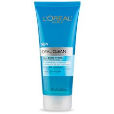 Ideal Clean™ All Skin Types Foaming Gel Cleanser - Cleansers & Makeup Removers - L'Oreal Paris