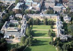 Downing College, Cambridge, England.  Walked those halls.