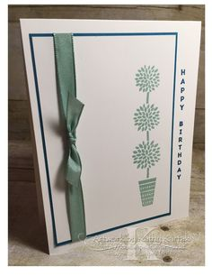 """Faithful INKspirations is made with Stampin' Up's """"Vertical Greetings"""" stamp set."""