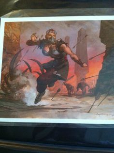 Magic Art of the Day - Fortune Thief by Christopher Moeller - Check out the owner's gallery: