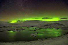 Unique images of the Aurora Borealis