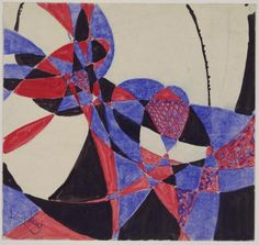 Amorpha: Fugue in Two Colors František Kupka (Czech, Gouache and ink on paper, 8 x x cm). © 2012 Artists Rights Society (ARS), New York / ADAGP, Paris Abstract Painters, Abstract Drawings, Abstract Styles, Abstract Art, Frantisek Kupka, Black And White Painting, European Paintings, Large Painting, Museum Of Modern Art
