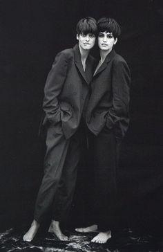 http://anonymous-magazine.tumblr.com/ unisex style / mirror image
