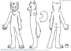 First things first, you\'re going to need a fursuit reference sheet ...