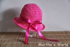 Free Crochet Patterns and Designs by LisaAuch: FREE crochet Patterns Baby Sun Hat (6-12 month)