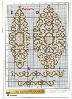 This Pin was discovered by Ayş Cross Stitch Numbers, Cross Stitch Borders, Cross Stitch Flowers, Counted Cross Stitch Patterns, Cross Stitch Designs, Cross Stitching, Cross Stitch Embroidery, Embroidery Patterns, Pinterest Cross Stitch