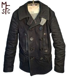Vintage sailor coat