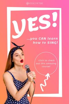 Yes, you can definitely learn how to sing! Are you a beginner learning to sing or are you already a singer but who wants further improve your voice? Click the link to check out this amazing course by Singorama. Recording Equipment, Your Voice, Improve Yourself, Singing, Learning, Link, Amazing, Check, Teaching