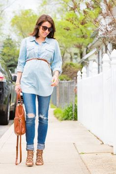 4 steps to a super-cute #BumpStyle @target #maternityoutfits