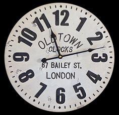 Reloj 40cm Www.vintage227.com.ar
