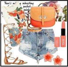 Orange Crush, Jeans, Denim Skirt, Fashion Outfits, Skirts, Denim Skirts, Fashion Sets, Gin, Skirt