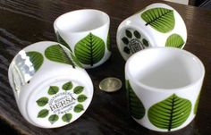 Stig Lindberg -1960'S  ceramic pots