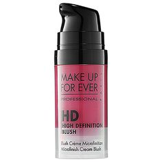 Make Up For Ever (or is it Makeup Forever?) HD Blush in Caught in the Act. Gorgeous!