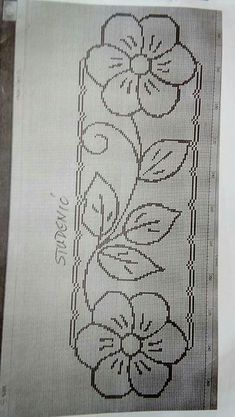 Discover thousands of images about Atik Santoso Hand Embroidery Videos, Hand Embroidery Stitches, Ribbon Embroidery, Cross Stitch Embroidery, Machine Embroidery, Cross Stitch Borders, Cross Stitch Patterns, Border Embroidery Designs, Mexican Embroidery