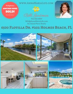 Holmes Beach waterfront condo for sale, sold my Billi Gartman, Anna Maria Island Realtor