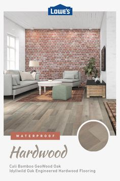 Add value and durability with engineered hardwood options in stock at Lowe's. Engineered Hardwood Flooring, Hardwood Floors, Living Room Decor Cozy, Piece A Vivre, Home Decor Kitchen, Home Remodeling, Family Room, New Homes, House Design