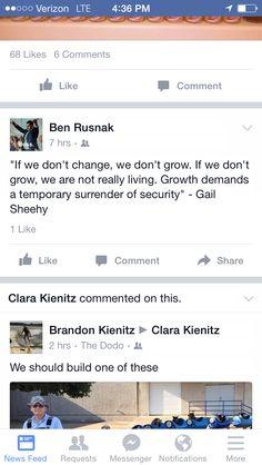 Change and grow