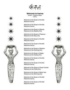 inanna goddess symbols - Google Search