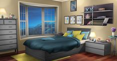 After a long summer the school year is coming. Although the MHA main … Action Bedroom Door Design, Modern Bedroom Design, Bedroom Decor, Episode Interactive Backgrounds, Episode Backgrounds, Anime Backgrounds Wallpapers, Anime Scenery Wallpaper, Home Design, Interior Design