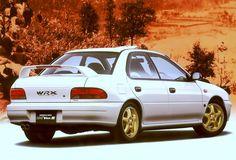 Subaru Impreza WRX Type RA STi Ver. II 1995
