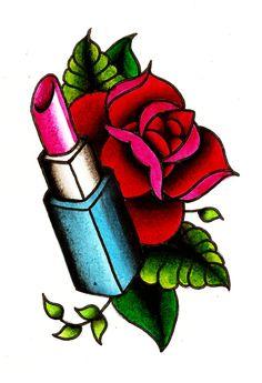 Lipstick Flash by BabyDollB.deviantart.com on @deviantART