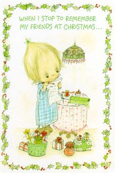 Betsey Clark- stopping to remember my friends at  Christmas