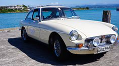 MGBGT A rare automatic in sunny Napier! Available for Hire from www.hooters-hire.co.nz