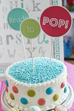 Ready to Pop Baby shower. What a cute idea! Serve popcorn, soda pop, etc.