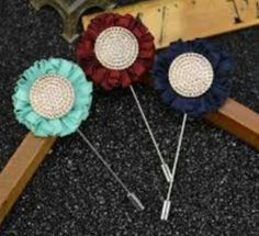 Latest New Collection of Flower Lapel Pin at Wholesale. For Bulk Order. Send inquiries at farhadtraders@gmail.com and Call or WhatsApp +91-9818157716.