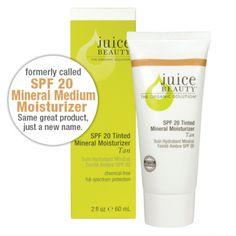 SPF 20 Tinted Mineral Moisturizer - Tan