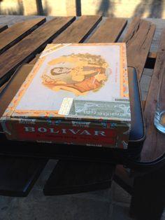 Bolívar Coronas Extra. Aged 6,5 years. A really true Cigar!!
