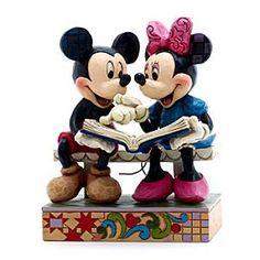Jim Shore Disney Traditions – Erinnerungen zum 85. Jubiläum Figur Micky und Minnie Figur
