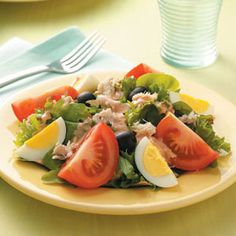 """Crab Louis Recipe -""""I make this salad when it's hot outside and we're looking for something quick and simple for dinner,"""" says Gail VanGundy. The Parker, Colorado cook likes to serve hers with butter crackers."""