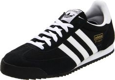 Adidas Originals Men's Dragon Retro Sneaker,Black/White/Metallic Gold,11 M US. Removable orthoLite insole. 11 D(M) US. Lace-up style. Dimensions: (width: 400), (height: 700) hundredths-inches.